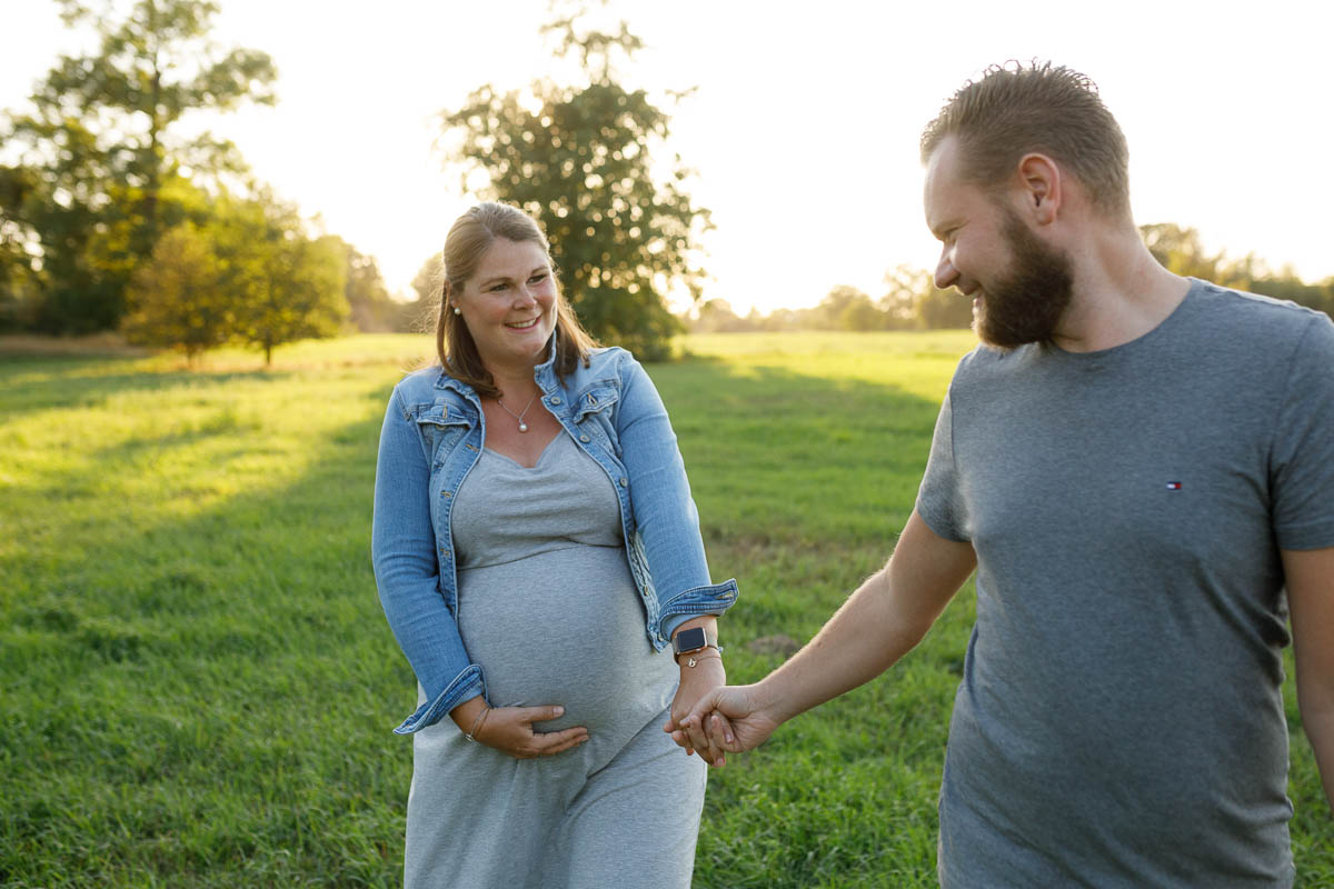 Babybauch-Fotoshooting Moers