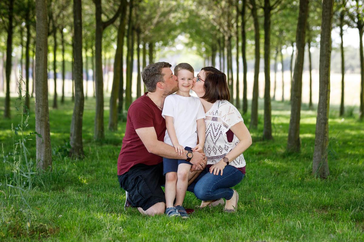 Fotoshooting Familie Rheinpark