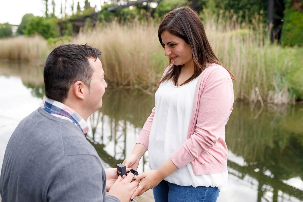 Fotoshooting Paar Verlobung