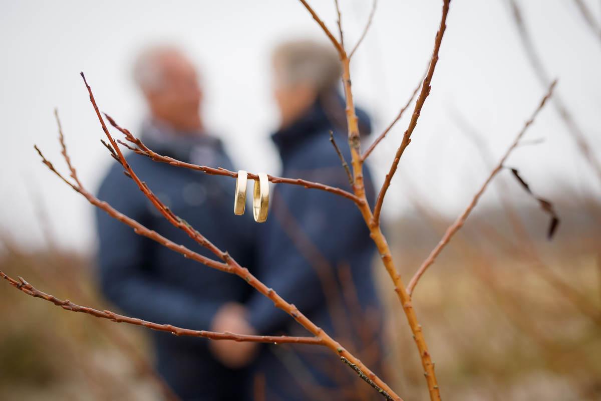 Fotoshooting goldene Hochzeit